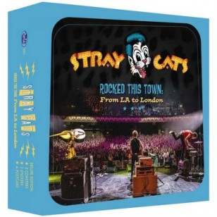 Rocked This Town: From LA To London (Live) [Limited Boxset] [CD+ Merch]
