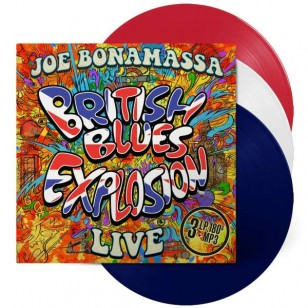 British Blues Explosion Live [Limited Edition Red, White & Blue Vinyl Box Set] [3LP]