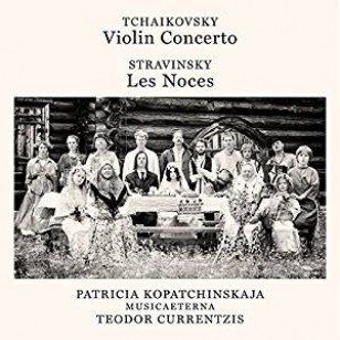 Tchaikovsky: Violin Concerto Op. 35 / Stravinsky: Les Noces [CD]