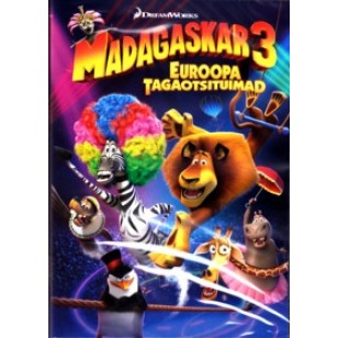 Madagaskar 3: Euroopa tagaotsituimad | Madagascar 3: Europe's Most Wanted [DVD]