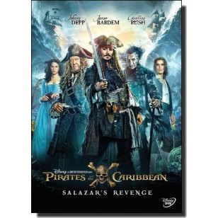 Pirates of the Caribbean 5: Salazar's Revenge [DVD]