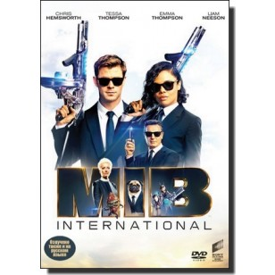 Mehed mustas: Globaalne oht | Men In Black: International [DVD]