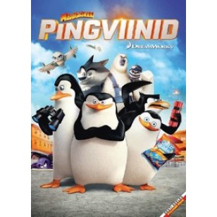 Madagaskari pingviinid / Penguins of Madagascar [DVD]