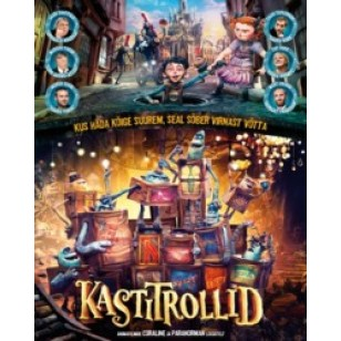 Kastitrollid / The Boxtrolls [2D+3D Blu-ray]