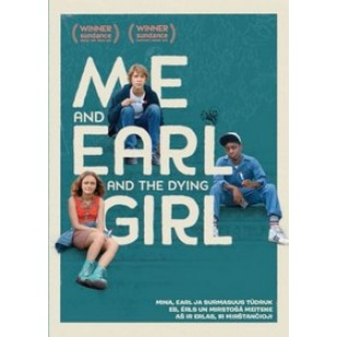 Mina, Earl ja surmasuus tüdruk / Me and Earl and the Dying Girl [DVD]