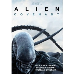 Tulnukas: Covenant / Alien: Covenant [DVD]