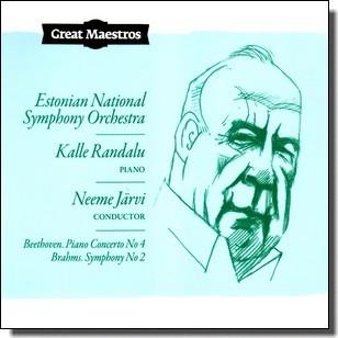 Great Maestros: Beethoven. Piano Concerto No 4 | Brahms. Symphony No 2 [CD]