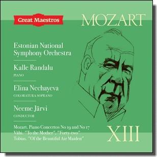 Great Maestros XIII: Mozart | Vähi | Tobias [CD]