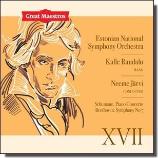 Great Maestros XVII: Schumann. Piano Concerto | Beethoven. Symphony No 7 [CD]