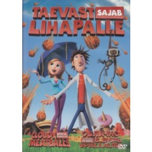 Taevast sajab lihapalle   Cloudy with a Chance of Meatballs [DVD]