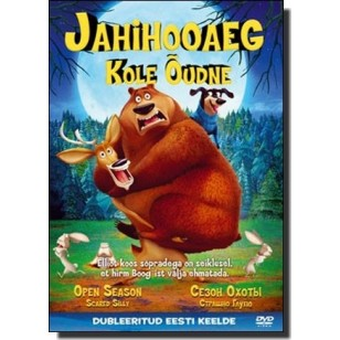 Jahihooaeg 4: Kole õudne | Open Season 4: Scared Silly [DVD]