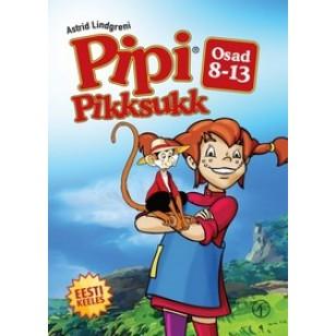 Pipi Pikksukk, osad 8-13 [DVD]