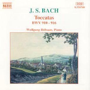 Toccatas BWV 910-916 [CD]