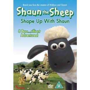 Shaun the Sheep: Shape Up With Shaun [DVD]