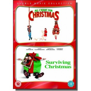 All I Want For Christmas + Surviving Christmas Double Pack [2DVD]