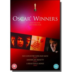Oscar Winners Collection: No Country for Old Men + American Beauty + A Beautiful Mind [3x DVD]