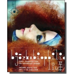 Biophilia Live 2013 [2CD+Blu-ray]