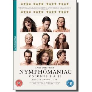 Nymphomaniac Volumes I & II [2x DVD]