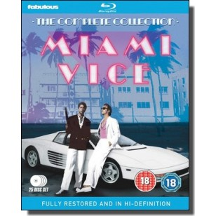 Miami Vice - The Complete Collection [25x Blu-ray]