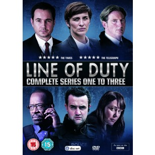 Line of Duty: Series 1-3 [6DVD]