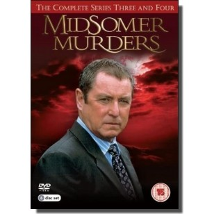 Midsomer Murders: Complete Series 3 & 4 [6DVD]