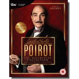 Agatha Christie's Poirot - The Definitive Collection: Series 1-13 [35x DVD]