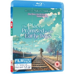 The Place Promised in Our Early Days + Voices of a Distant Star [Blu-ray]