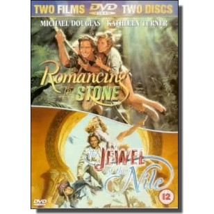 Romancing the Stone + The Jewel of the Nile [2x DVD]
