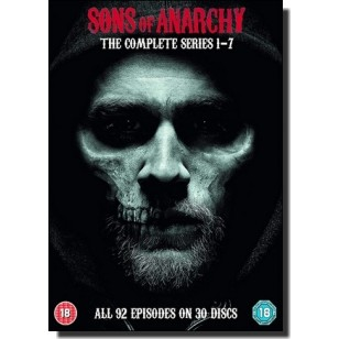 Sons of Anarchy: The Complete Series 1-7 [30x DVD]