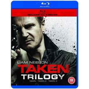 Taken Trilogy [3x Blu-ray]