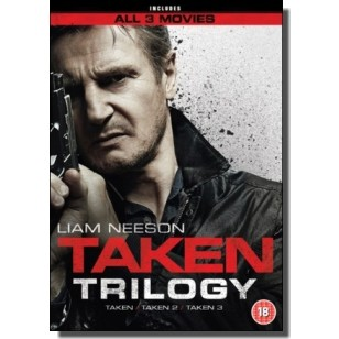 Taken Trilogy [3x DVD]