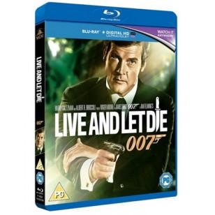 James Bond - Live and Let Die [Blu-ray]