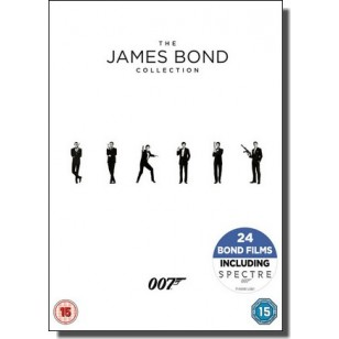 James Bond Collection 2015 [24x DVD]