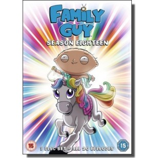 Family Guy - Season 18 [3DVD]