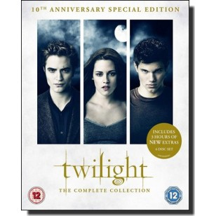 The Twilight Saga: The Complete Collection [10th Anniversary Special Edition] [6Blu-ray]