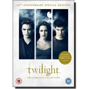 The Twilight Saga: The Complete Collection [10th Anniversary Special Edition] [11DVD]