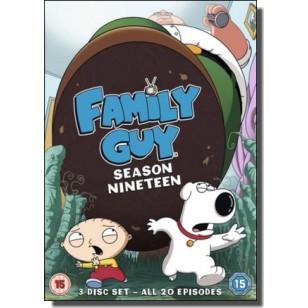 Family Guy - Season 19 [3DVD]