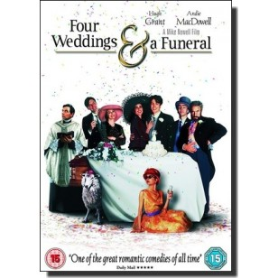 Four Weddings and a Funeral [DVD]