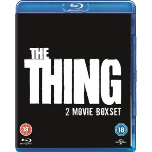The Thing (1982) + The Thing (2011) [2x Blu-ray]