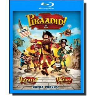 Piraadid! | The Pirates! Band of Misfits [3D Blu-ray]