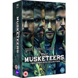 The Musketeers: The Complete Collection [12x DVD]