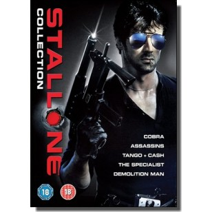 Sylvester Stallone Collection: Cobra | Assassins | Tango & Cash | The Specialist | Demolition Man [5xDVD]