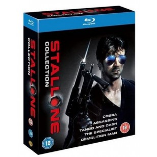 Sylvester Stallone Collection: Cobra | Assassins | Tango & Cash | The Specialist | Demolition Man [5xBlu-ray]