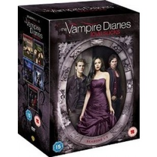 The Vampire Diaries: Seasons 1-5 [25DVD]