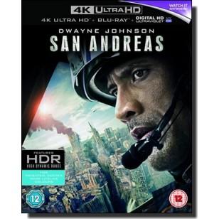 San Andreas [4K UHD+Blu-ray+DL]