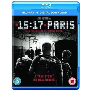 The 15:17 to Paris [Blu-ray+DL]