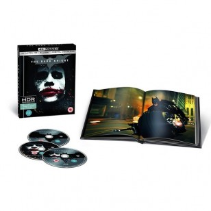 The Dark Knight [4K UHD+ Blu-ray+ Book]