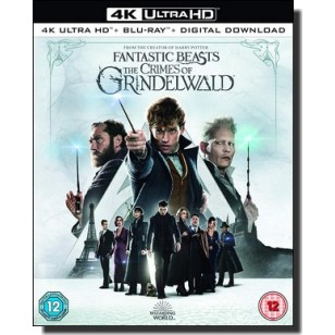 Fantastic Beasts: The Crimes Of Grindelwald [4K UHD+Blu-ray+DL]
