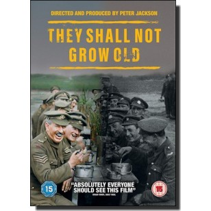 They Shall Not Grow Old [DVD]