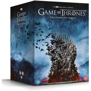 Game of Thrones - The Complete Series: Seasons 1-8 [38x DVD]